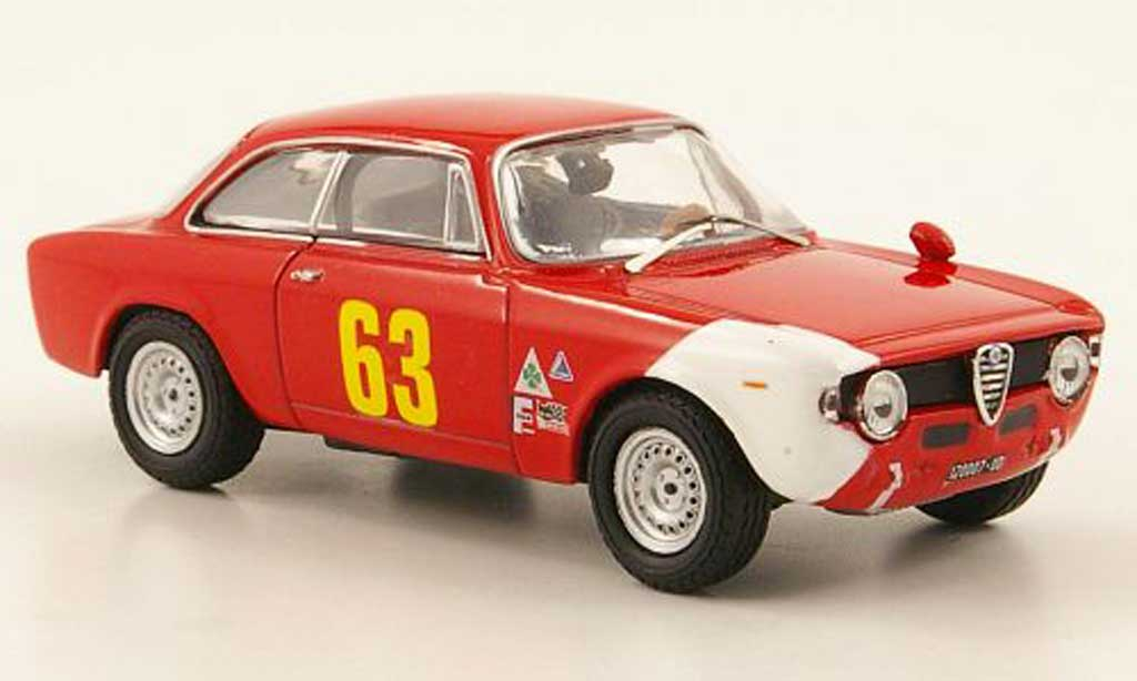 Alfa Romeo Giulia 1600 GTA 1/43 M4 Sprint No.63 Monza 1966 miniature