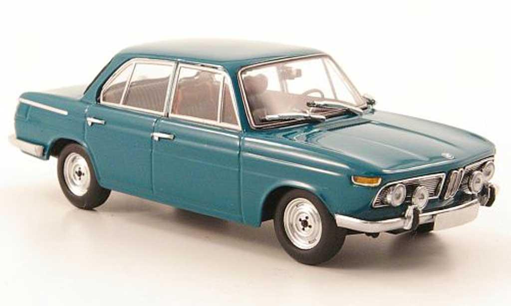 Bmw 1800 1/43 Minichamps TiSA turkis Sondermodell MCW 1965 modellautos