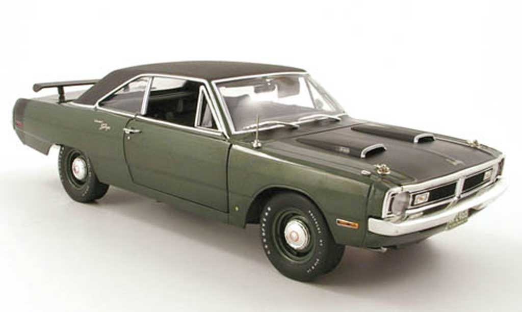 Dodge Dart 1970 1/18 Highway 61 swinger green/noir diecast