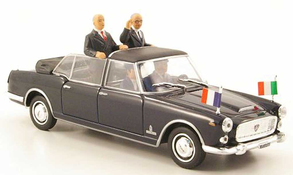 Lancia Flaminia Presidenziale 1/43 Starline de Gaulle + Saragat 1965 miniature
