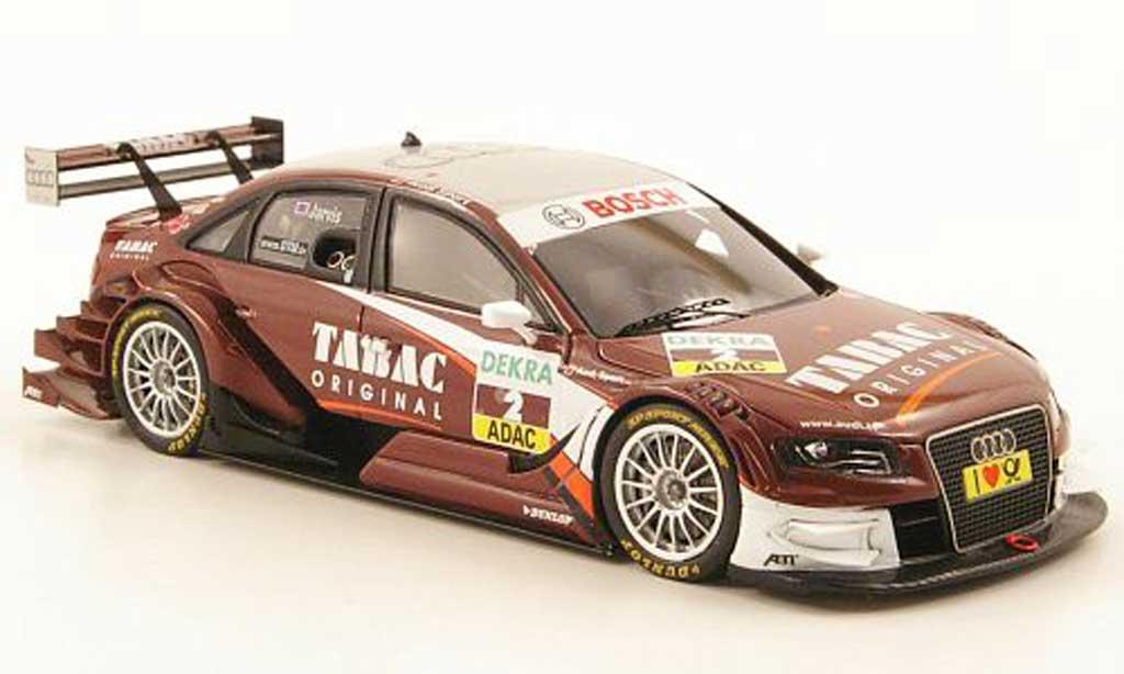 Audi A4 DTM 1/43 Spark No.2 Tabac Original Saison 2010 miniature