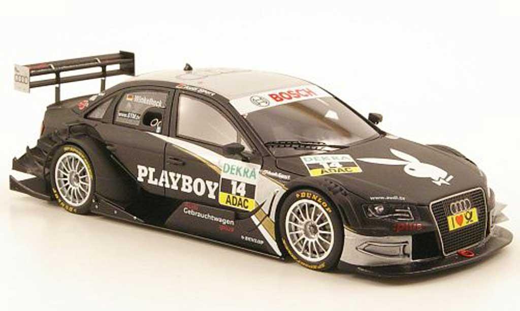 Audi A4 DTM 1/43 Spark No.14 Playboy Saison 2010 miniature