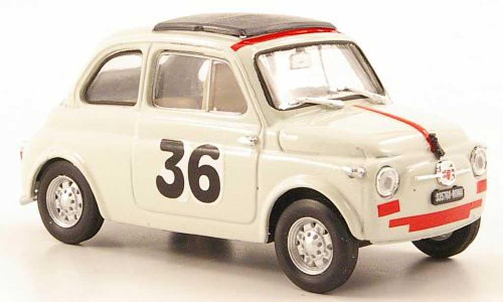 Fiat 500 1/43 Brumm Nuova No.36 I.Giunti Vallelunga 1965 diecast