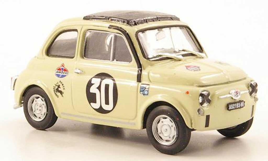Fiat 500 1/43 Brumm Giannini TV No.30 Coppa Carri Monza 1966 diecast