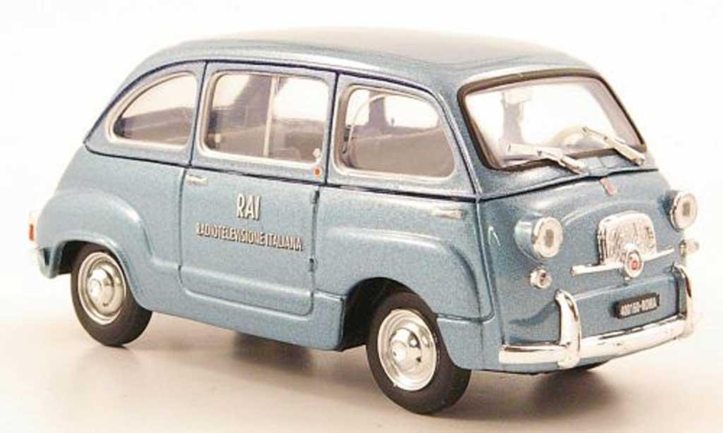 Fiat 600 1/43 Brumm D Multipla RAI 1960 diecast
