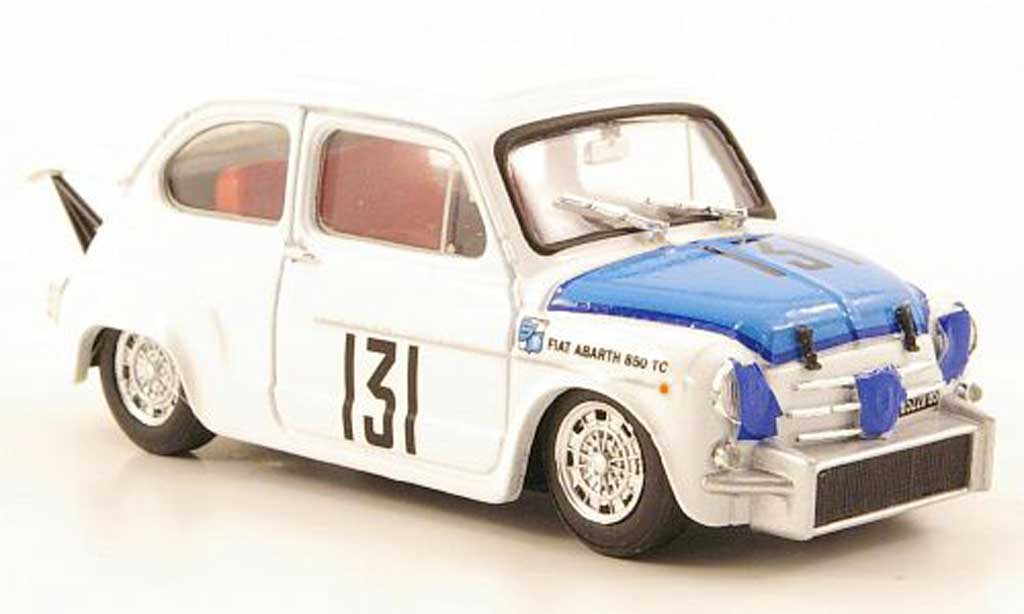 Fiat 131 Abarth 1/43 Brumm 850 TC No.Coppa L.Carri Monza 1965 miniature