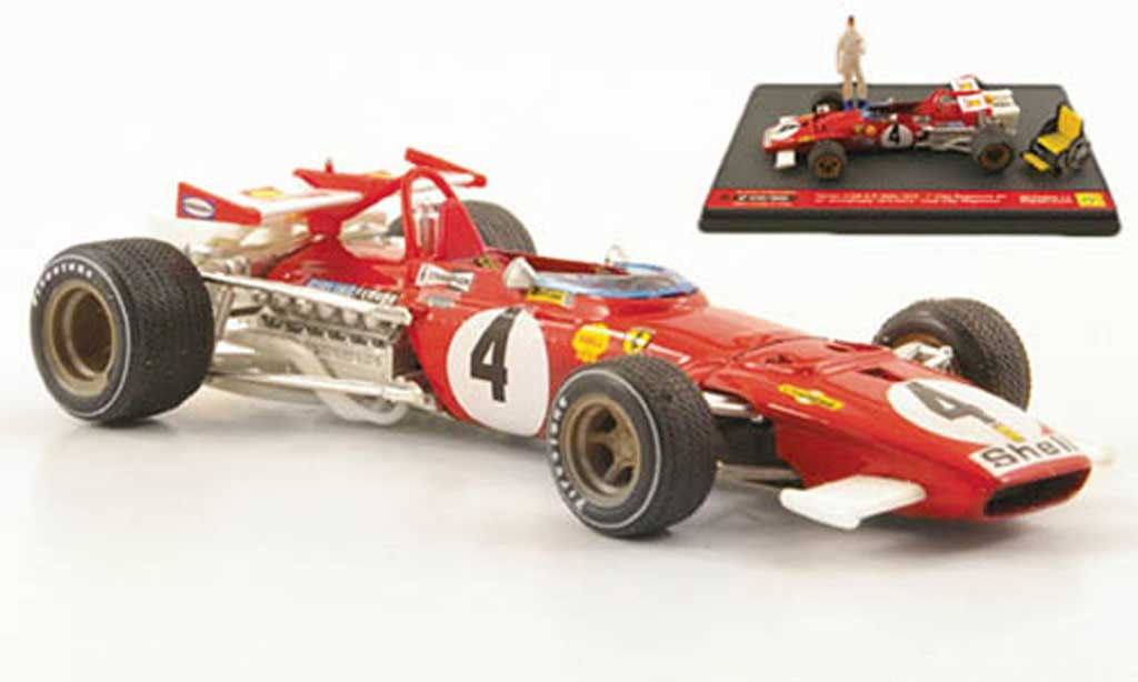 Ferrari 312 B 1/43 Brumm No.4 C.Regazzoni GItalien 1970 miniature