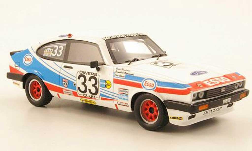 Ford Capri 1981 1/43 Premium X 1981 MK III 3.0S No.33 Esso 24h Spa miniature
