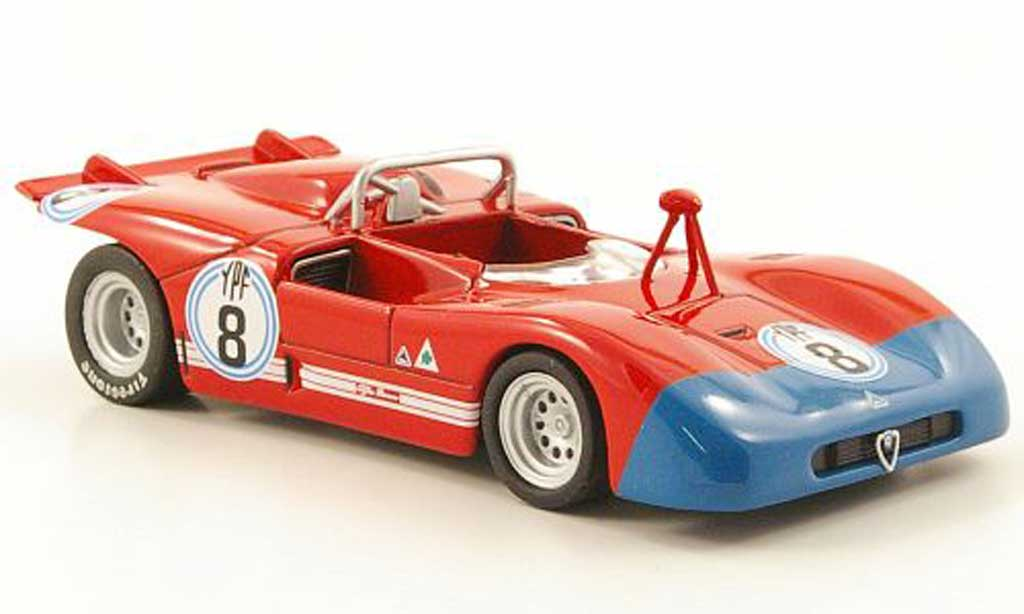 Alfa Romeo 33.3 1971 1/43 M4 No.8 Buenos Aires Gara miniature