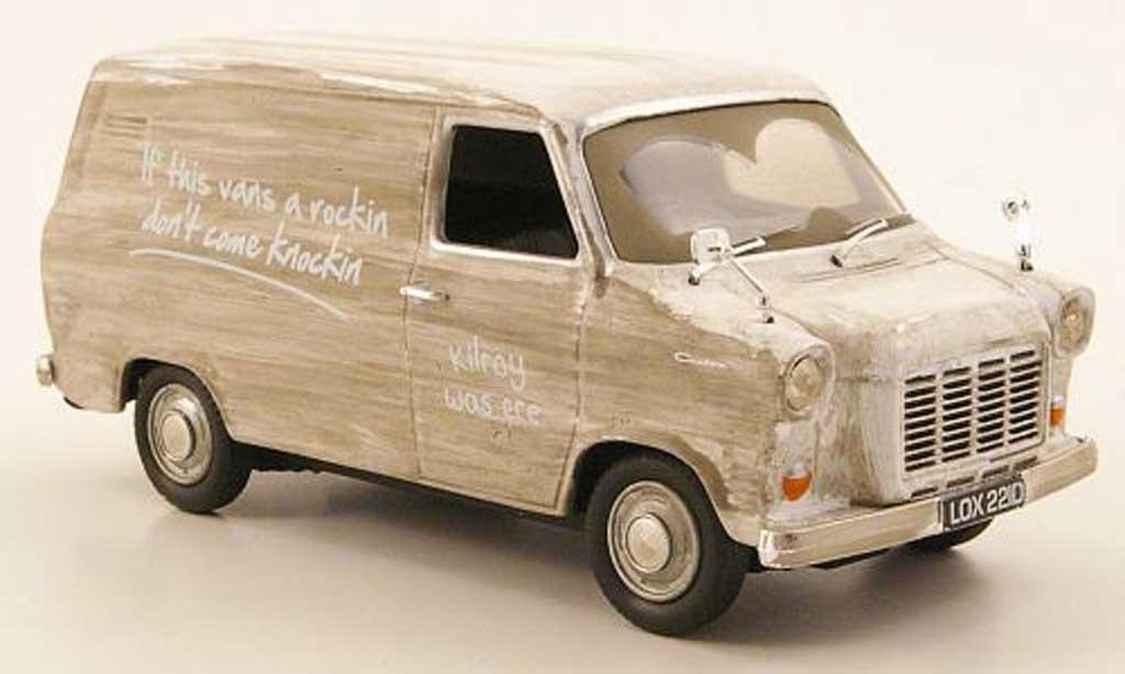 Ford Transit 1/43 Vanguards MKI Kasten verschmutzt modellino in miniatura