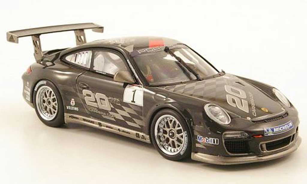 Porsche 997 GT3 Cup 1/43 Minichamps No.1 20 Jahre Carrera Cup miniature