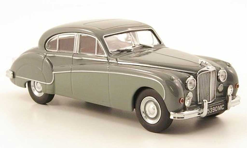 Jaguar MK 9 1/43 Oxford grise/grise miniature