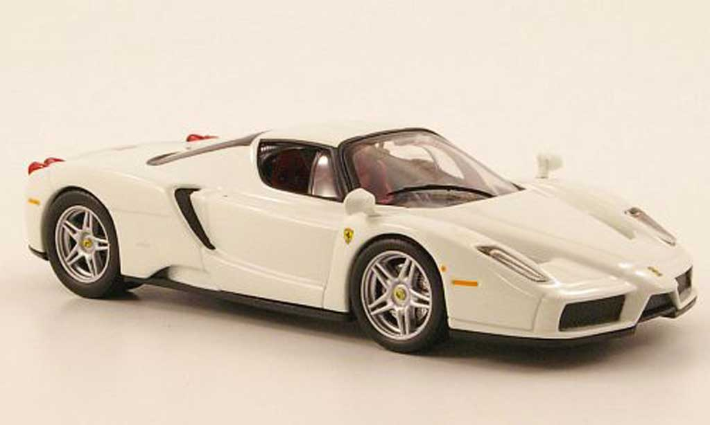 Ferrari Enzo 1/43 IXO white 2003 diecast model cars