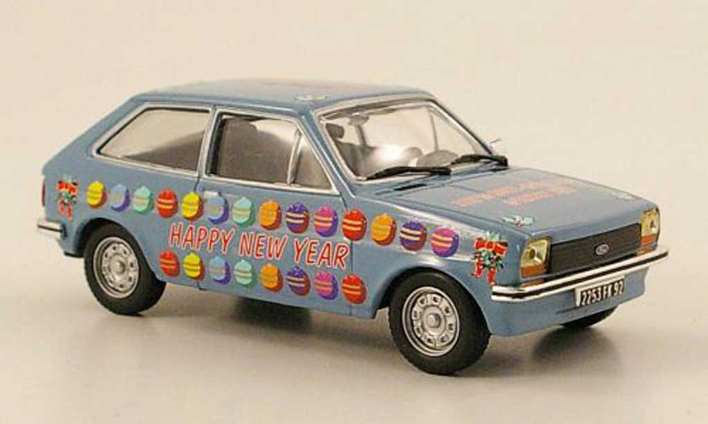 Ford Fiesta MKI 1/43 IXO Merry Christmas + Happy New Year
