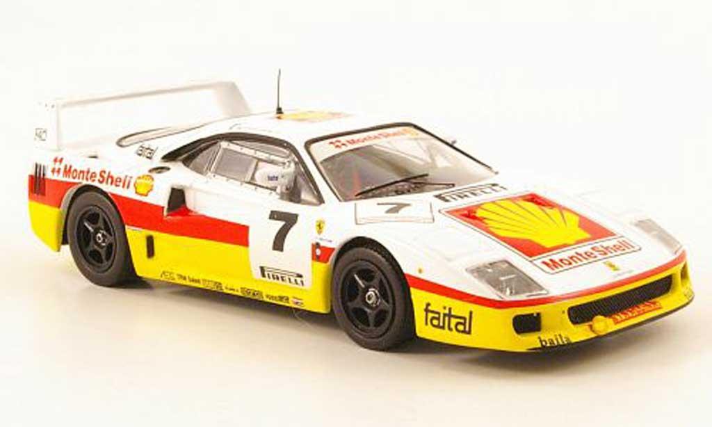 Ferrari F40 Competizione 1/43 IXO No.7 Monte S Supercar GT miniatura