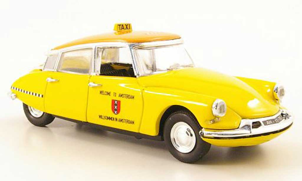 Citroen DS 19 1/43 Rio Taxi Amsterdam 63 diecast model cars