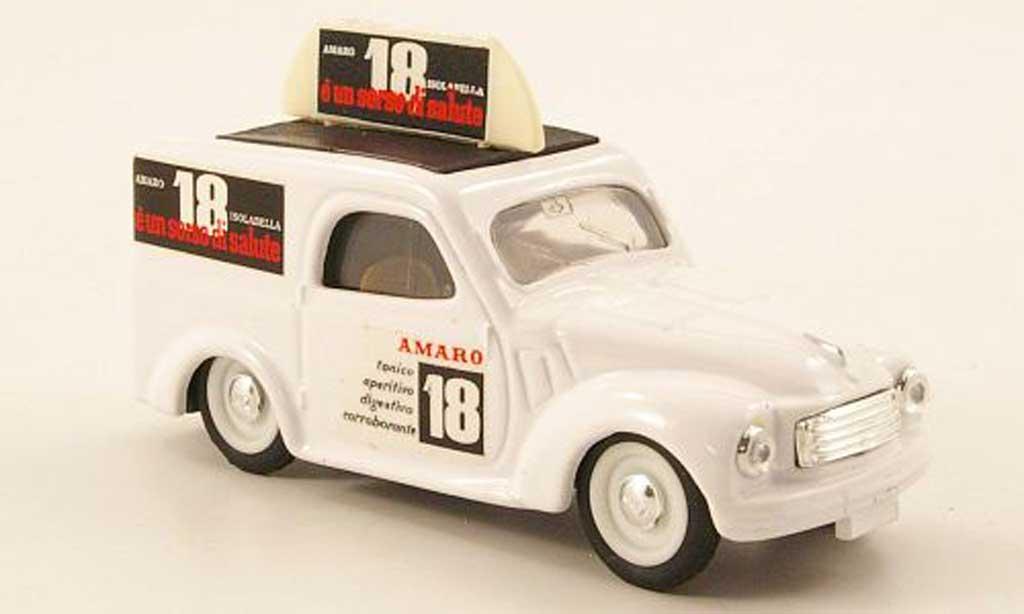 Fiat 500 1/43 Brumm Furgoncino Amaro 18 Isolabella 1949 diecast
