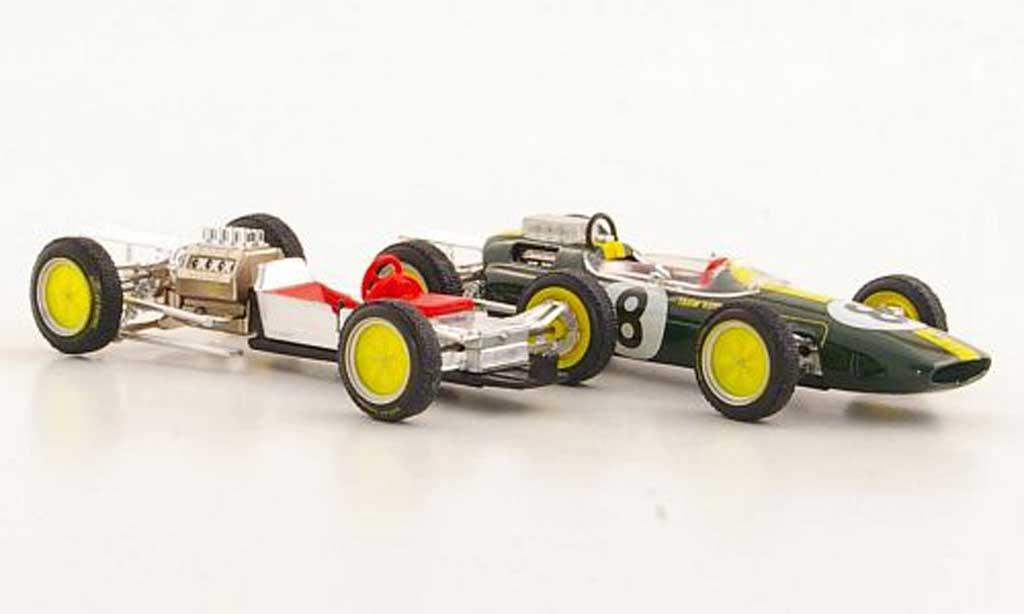 Lotus 25 1/43 Brumm No.8 Team J.Clark GP Italien Monza 1963 diecast model cars
