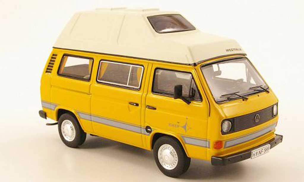 Volkswagen T3 1/43 Premium ClassiXXs Camper 'Joker' jaune Westfalia miniature