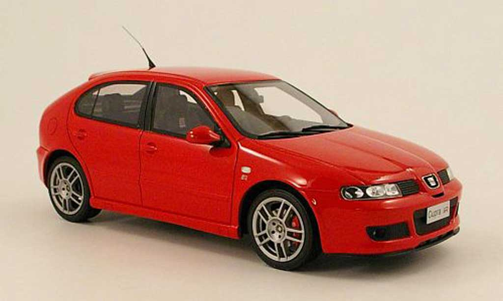 Seat Leon 1/18 Ottomobile cupra r (1m) roja 1999 miniatura