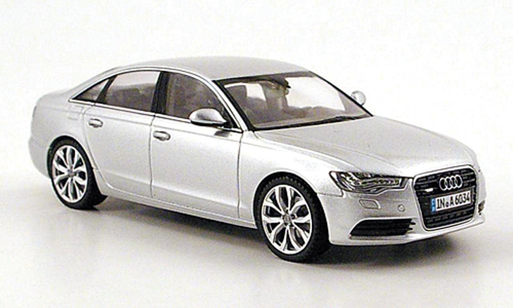 Audi A6 1/43 Schuco (C7) grise 2011 miniature
