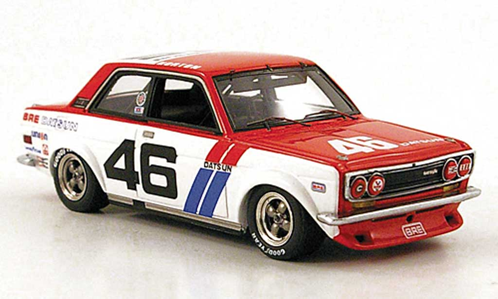 Datsun 510 1/43 TrueScale Miniatures BRE No.46 Sieger SCCA Trans-AM 1972 miniature