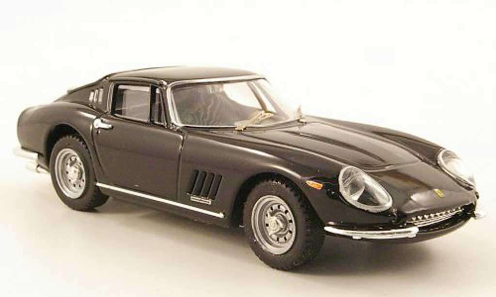 Ferrari 275 1968 1/43 Best GTB/4 schwarz Autosalon Paris modellautos