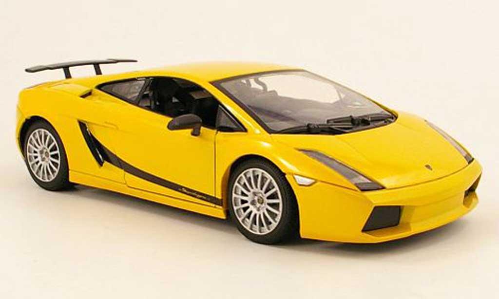 Lamborghini Gallardo Superleggera 1/18 Mondo Motors yellow diecast