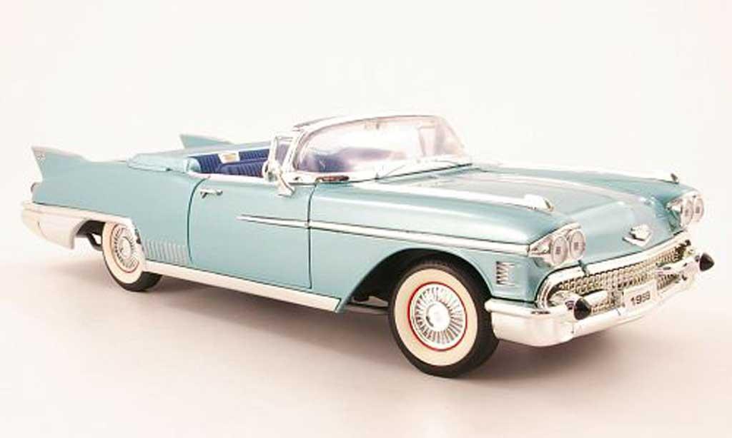 Cadillac Eldorado 1/18 Yat Ming biarritz grun 1958 miniature