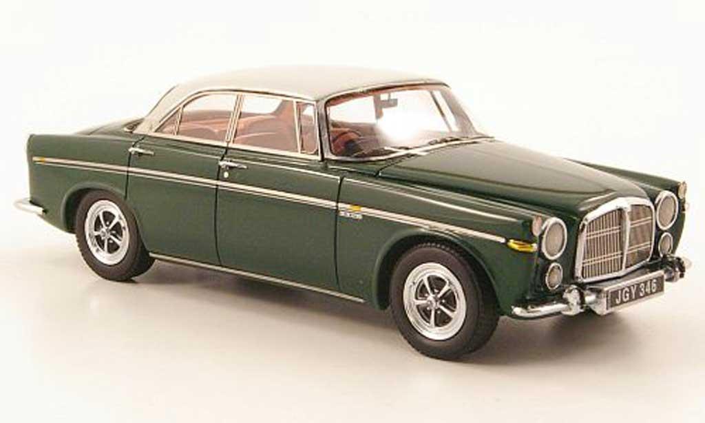 Rover P5B 1/43 Neo Coupe noire-vert/gris clair RHD 1971 miniature