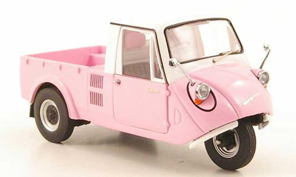 Mazda K360 1/43 Ebbro pink/blanche 1962 miniature