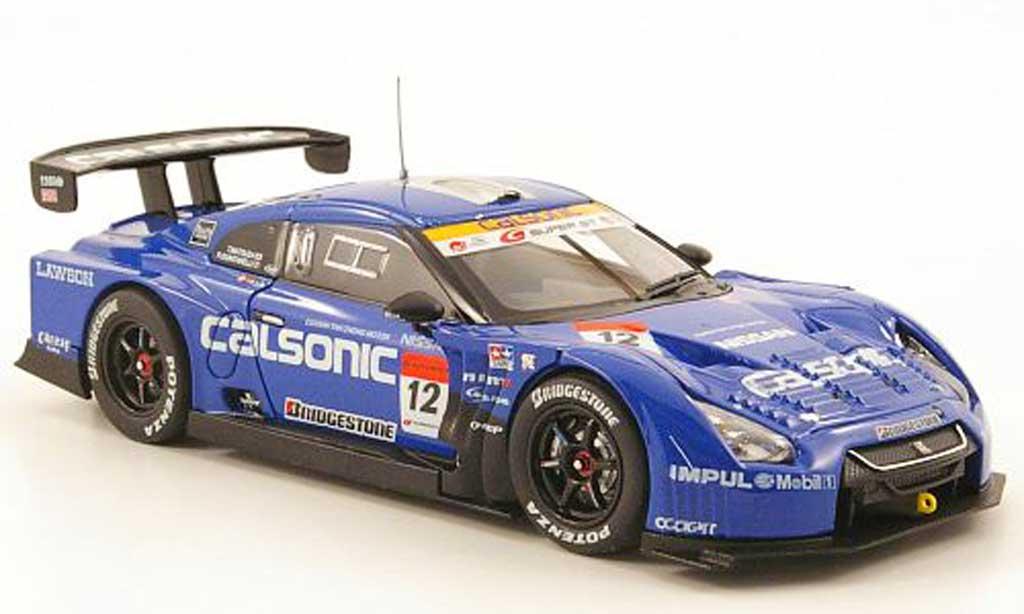 Nissan Skyline R35 1/43 Ebbro GT-R No.12 Calsonic Impul Super GT500 Sepang 2010 miniature