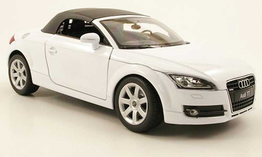 Audi TT Roadster 1/18 Welly weiss geschlossen reduziert