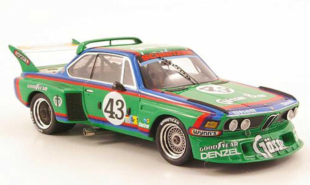 Bmw 3.5 CSL 1/43 Spark No.43 Gosser Beer 24h Le Mans 1976 miniature