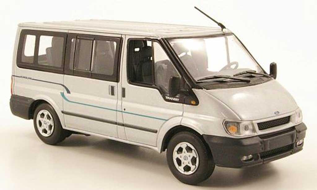 Ford Transit 1/43 Minichamps Bus Euroline grise  2000 miniature