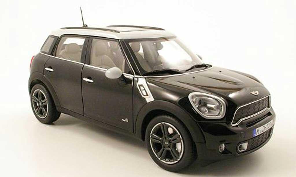 Mini Countryman S 1/18 Norev noire/grise 2010 miniature