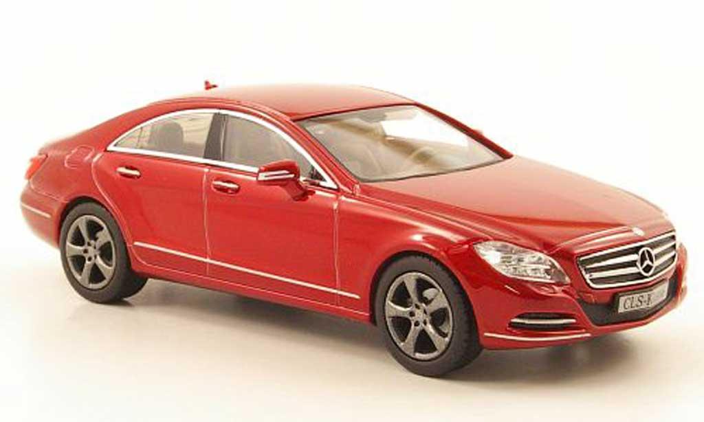 Mercedes Classe CLS 1/43 Norev (C218) rouge 2011 miniature