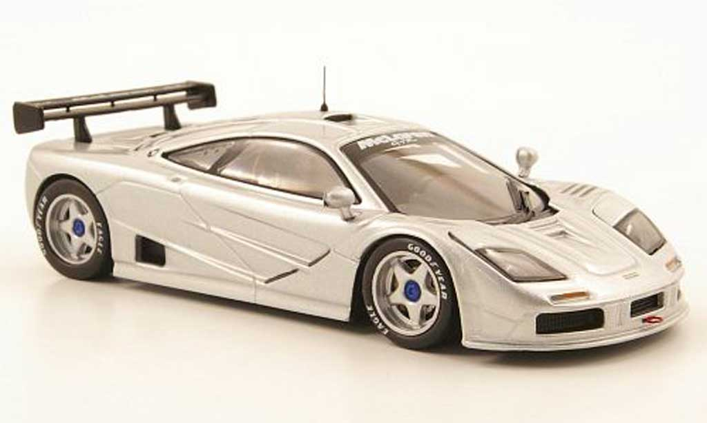 McLaren F1 1/43 IXO GTR grey Rennversion diecast model cars
