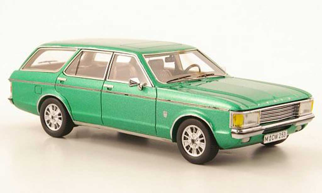 Ford Granada 1/43 Neo MK I Turnier grun lim. Aufl. 300 1972 diecast model cars