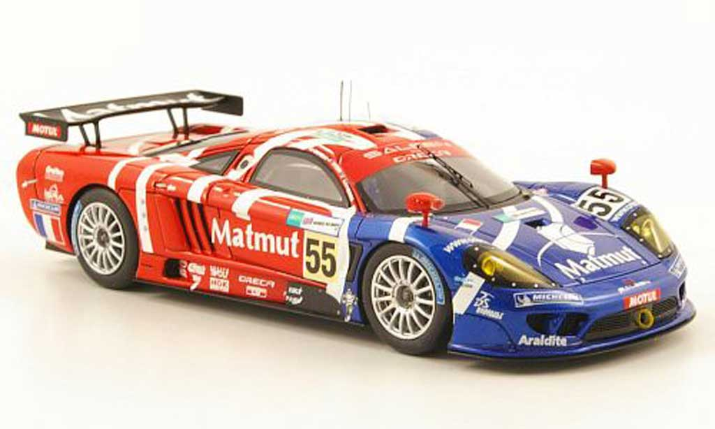 Saleen S7R 2007 1/43 Spark No.55 Team Oreca Matmut 24h Le Mans miniature