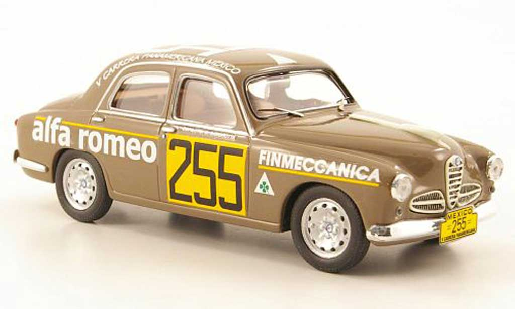 Alfa Romeo 1900 1/43 M4 Super No.255 Carrera Panamericana 1954 diecast