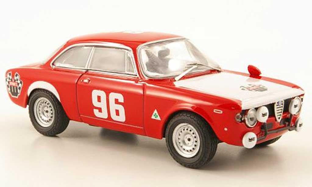 Alfa Romeo Giulia 1600 GTA 1/43 M4 No.96 Wynn's Monza 1970 diecast model cars