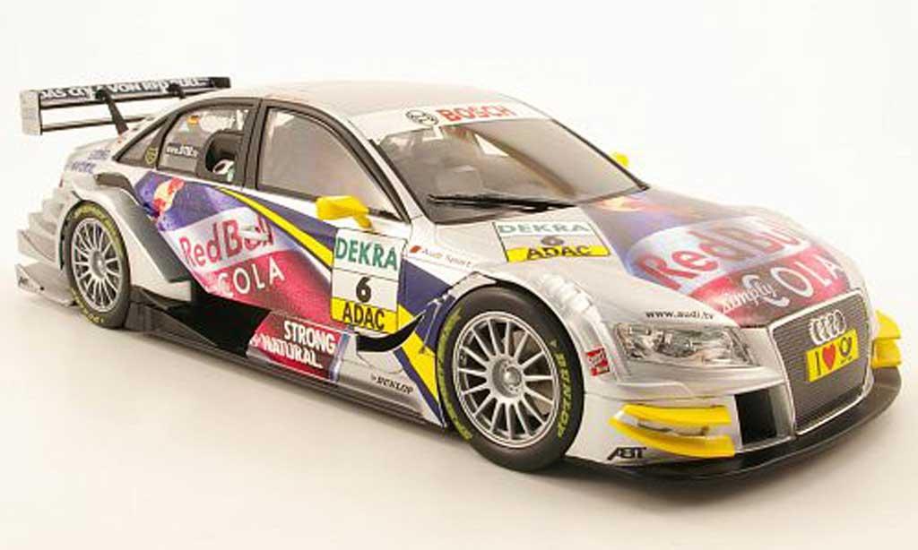 Audi A4 DTM 1/18 Norev no6 team abt sportsline dtm saison 2009 mtomczyk miniature