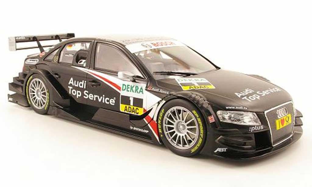 Audi A4 DTM 1/18 Norev no1 team abt sieger dtm saison 2009 tscheider miniature