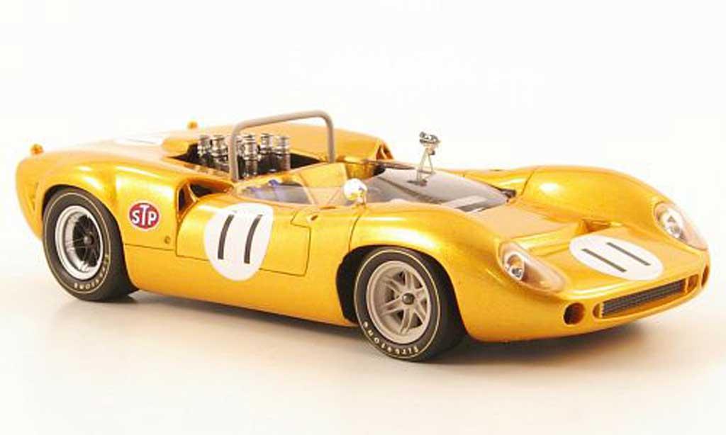 Lola T70 1968 1/43 Ebbro Mk.2 No.11 GP Japan coche miniatura