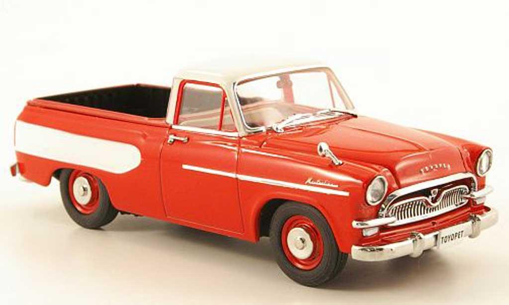 Toyopet Masterline 1/43 Ebbro Pick Up rouge/blanche 1959