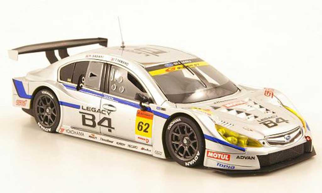 Subaru Legacy GT 2010 1/43 Ebbro B4 No.62 R&D Sport Super GT300 Suzuka miniature