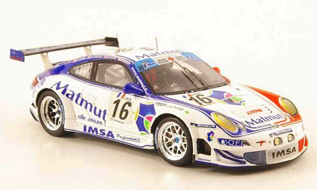 Porsche 997 GT3 RSR 1/43 Spark 2010 No.16 Matmut 24h Spa diecast model cars