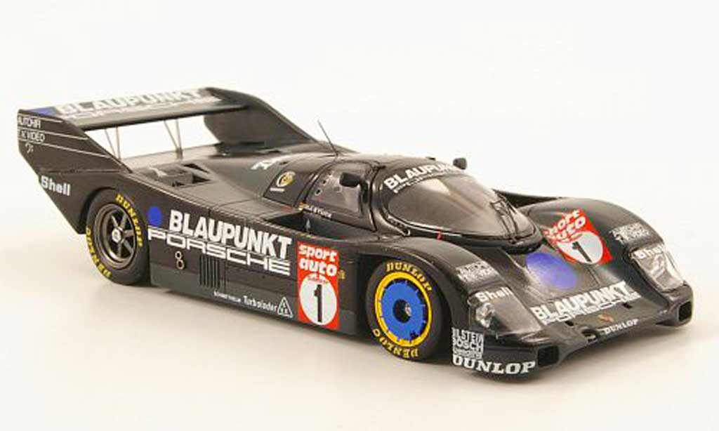 Porsche 962 1986 1/43 Spark No.1 bleupunkt sport auto Supercup miniature