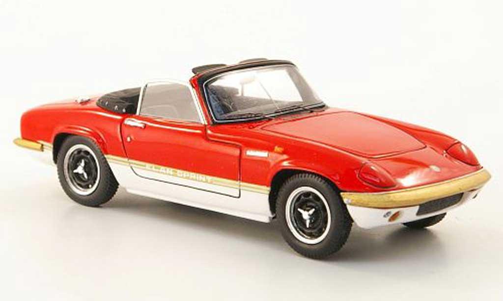 Lotus Elan 1/43 Spark S4 Sprint DHC rot/weiss 1971 modellautos